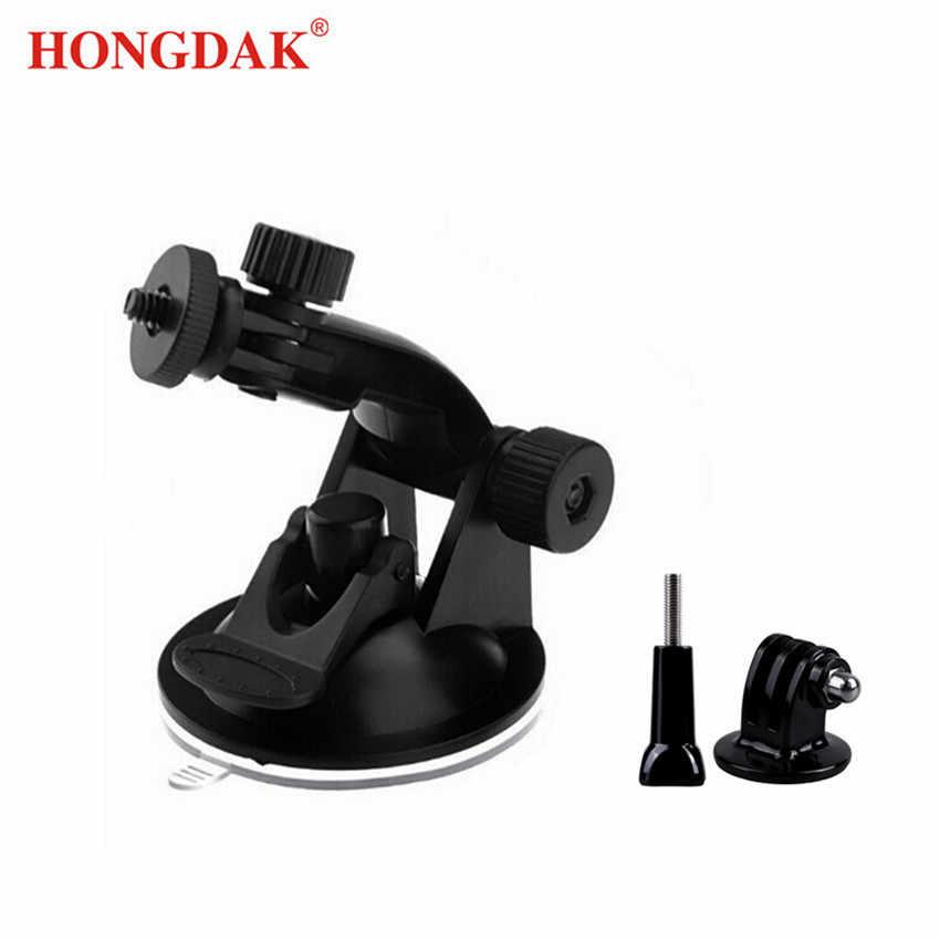 HONGDAK для камеры Gopro присоска портативная Автомобильная присоска подставка с штативом Крепление Винт для большого пальца