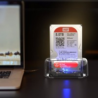 ORICO 2 5 3 5 Inch Transparen HDD Enclosure USB 3 0 5Gbps To SATA3 0