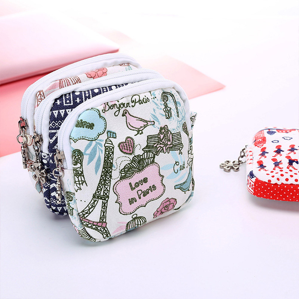 Bags Organizer-Holder Makeup-Case Sanitary-Pad Girl Cute Napkin-Towel Convenience Women