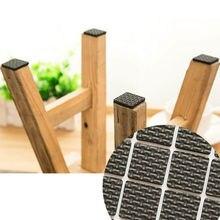 Ступни нуля липкий защитить горячего пол деревянный коврик мебель ноги шт.