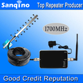Sanqino AWS Amplifier FDD 4G LTE Band 4 Cell Phone Signal Repeater AWS 1700MHZ Signal Booster Yagi Antenna Set Hot Sell