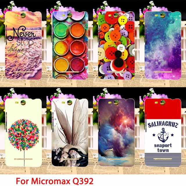 TAOYUNXI Soft TPU Phone Cases For Micromax Q392 Canvas Power 2 Canvas Juice 3 Case Color Girl Back Coverss Sheaths Skins Shields
