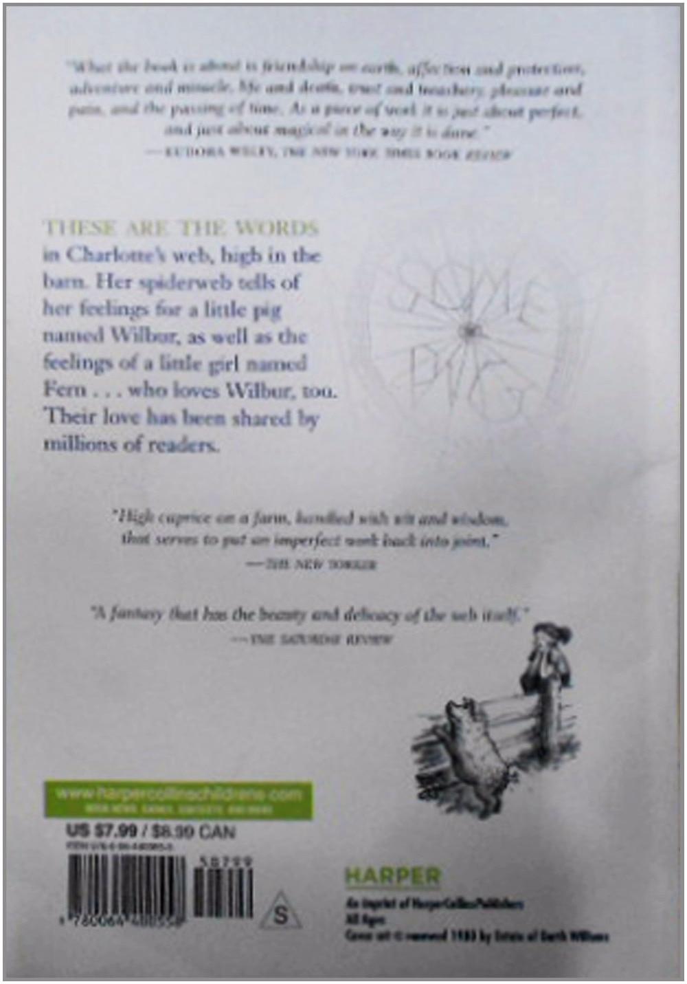 De Charlotte Web ( inglés ), de los niños de libros, libros para ...