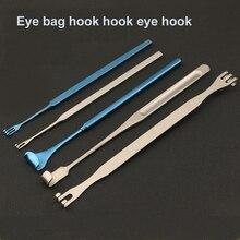 Stainless steel beauty plastic equipment fine eye bag hook eyelid pull hook type double claw double eyelid surgery tool