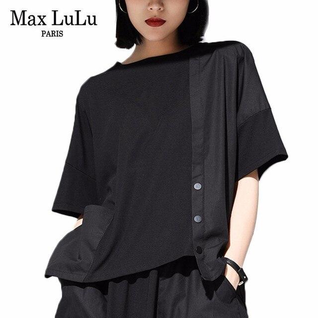 2a4b17bd327 Check Price Max LuLu Summer Luxury Korean Fashion Brand Ladies Crop ...