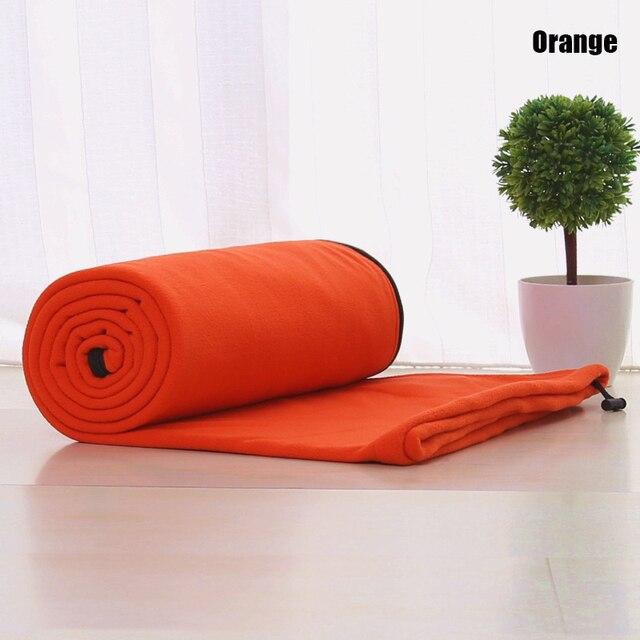 Fleece Sleeping Bag Portable For Camping 6