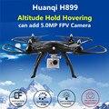 Профессиональных Дронов HQ H899 Большой Quadcopter 2.4 Г Один Ключ Возвращение RC вертолет Может + Gopro Xiaoyi SJCAM Камера VS MJX X101 X8W X8G