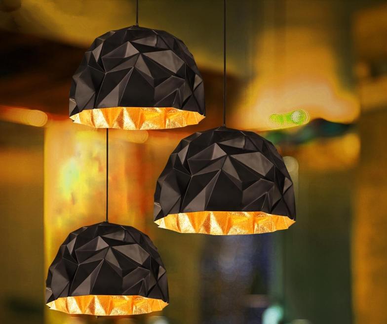 Retro industrial wind loft cafe restaurant creative personality modern simple bar table geometric single head pendant lights все цены