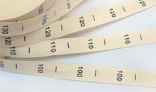 Free Shipping 250pcs/lot 100% COTTON garment size labels clothing tags number printed label