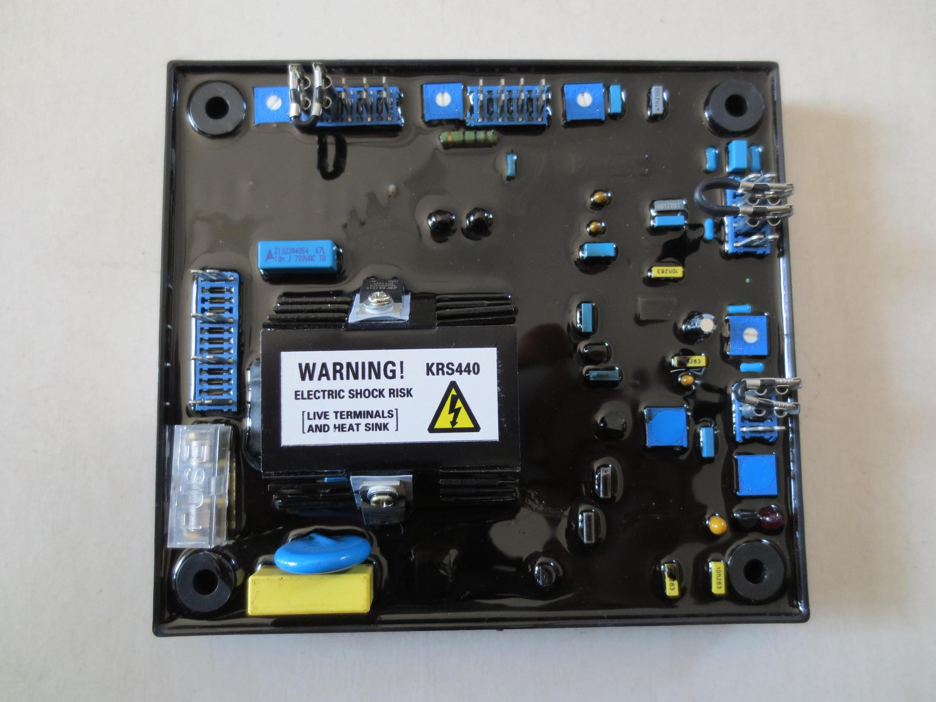 KRS440 automatic voltage regulator (AVR)KRS440 automatic voltage regulator (AVR)