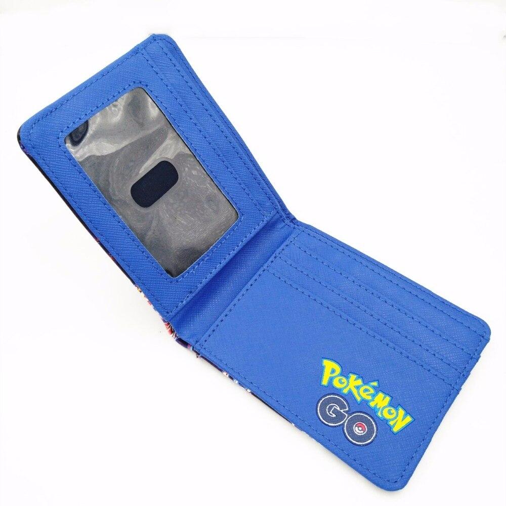 Hot Game Pokemon Go Wallets Pocket Monster Ball Purse Kids Birthday Gift Folder Short Wallet W384
