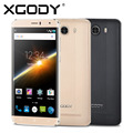 Xgody y15 6 pulgadas android 5.1 quad core ram teléfono móvil 512 MB ROM 8 GB Con Cámara de $ number MEGAPÍXELES GSM Celular 3G WCDMA Inteligente teléfono