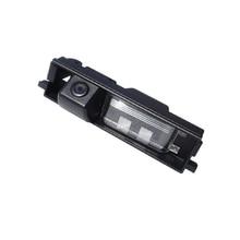 Envío libre para Toyota RAV4 2011 2012 Aparcamiento retrovisor que invierte el respaldo cámara 6 M Cable HD CCD de Hetida fábrica cámara