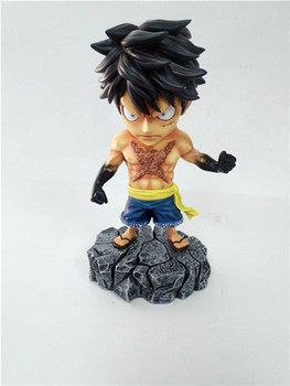 Anime One Piece Underworld Roronoa Zoro Sanji Monkey D Luffy with Tattoo Action Figure Toys 15cm