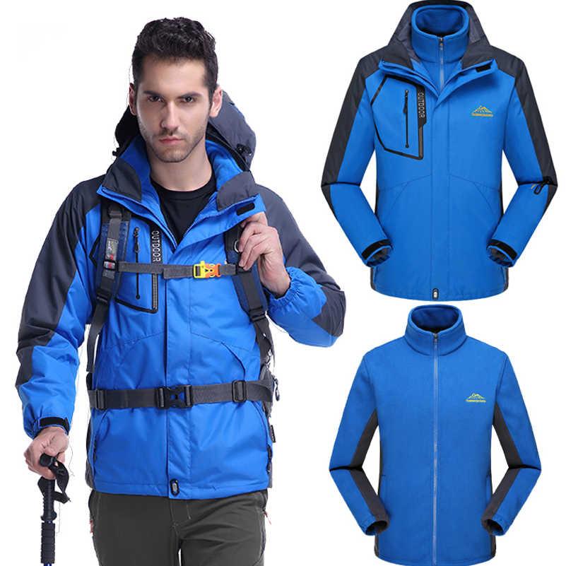 ブランド男性女性ジャケットパーカーコート用男性冬ウインドブレーカーjaqueta熱男性ジャケット上着防水三枚