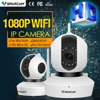 Vstarcam C23S 1080 P Cámara IP 2 MP FULL HD Cámara Web Inalámbrica HD 1080 P de Infrarrojos de Seguridad 128G Ranura Para Tarjeta SD Grabar Audio CCTV cámara