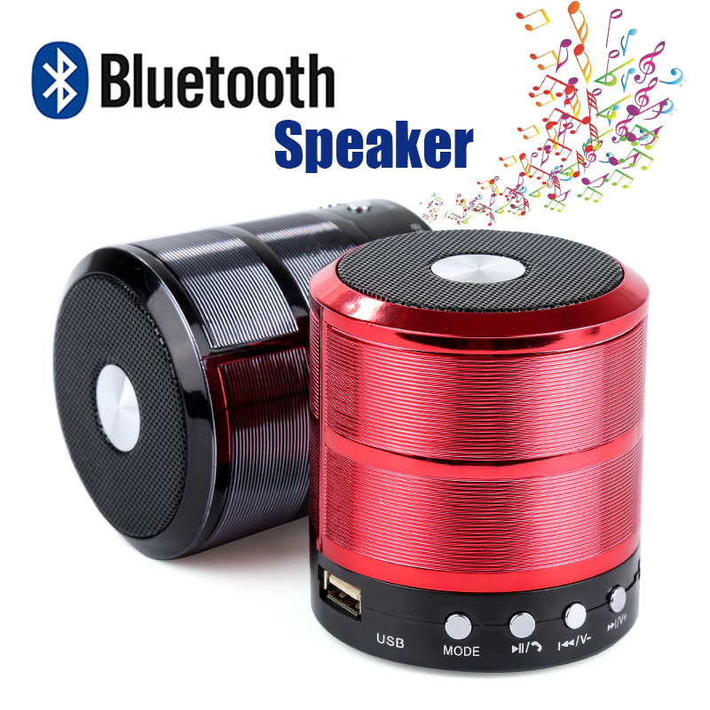 WS887 Bluetooth Speaker Portable Wireless Mini Column Stereo Music Sound Box Support FM Radio AUX TF Card USB Handsfree Call portable wireless bluetooth column speaker stereo subwoofer support usb sound box tf fm radio with mic dual bass loudspeaker
