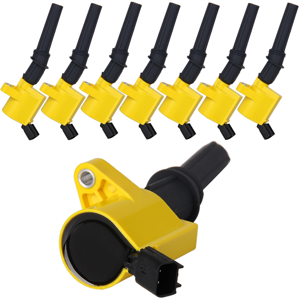 Carbole 8pcs Pack For Ford Lincoln Mercury Ignition Coils Dg508 1999 Cougar Wiring Coil C1454 46l 54l V8 Coi In From Automobiles Motorcycles On
