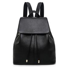 купить Fashion Designer Cow Genuine Leather Women Backpacks Drawstring School Bags For Teenagers Girls Female Travel BackPack Rucksack по цене 3464.33 рублей