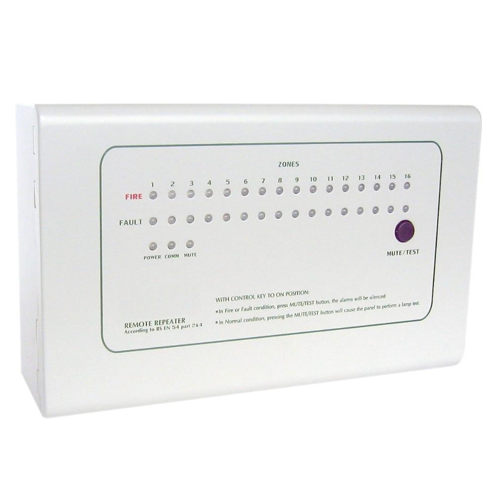 RP1016 Repeater Panel 16 zon Repetera displaypanelarbete med ck1000 - Säkerhet och skydd - Foto 1