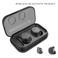 TWS Earbuds True Wireless Headphones Bluetooth 5.0 Waterproof Touch Control Earphone Mini Headset with Microphone best top touch ytom gw15 true wireless headphones bluetooth 5 0 tws earphone 5 hours music time mini sport earbuds for phone pc