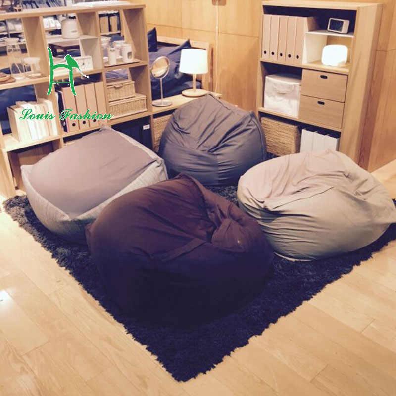 Enjoyable Muji Ryohin Keikaku Comfortable Cotton Cloth Art Sofa Lazy Beutiful Home Inspiration Ommitmahrainfo