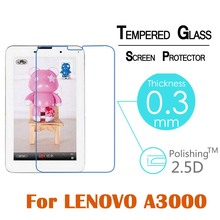 Ultra thin 0 3MM 9H Arc edge 2 5D Tempered Glass Front Screen Protector Film For