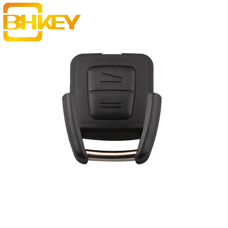 BHKEY 2Buttons Remote Car Key Shell No Blade For Vauxhall Opel Astra Zafira Omega Vectra No Chip Car Key Case Fob Car Cover