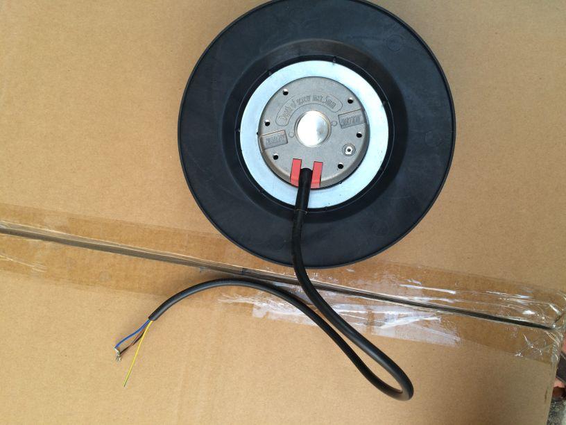 R2D225-AP02-09 AC400V Original Authentic German Centrifugal Fan Turbo Fan