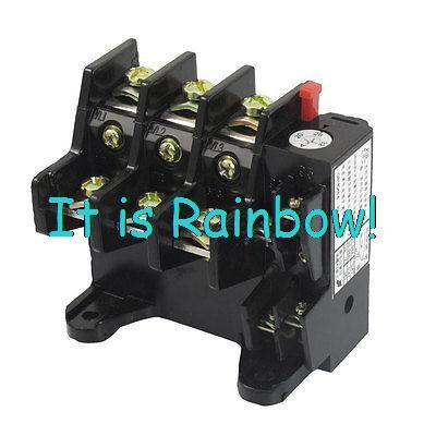 Free Shipping JR36-63 1NO 1NC Three Phase 22A 32A 45A 63A Range Electric Thermal Overload Relay 3 pole ac 0 63a 1a electric thermal overload relay 1 no 1 nc