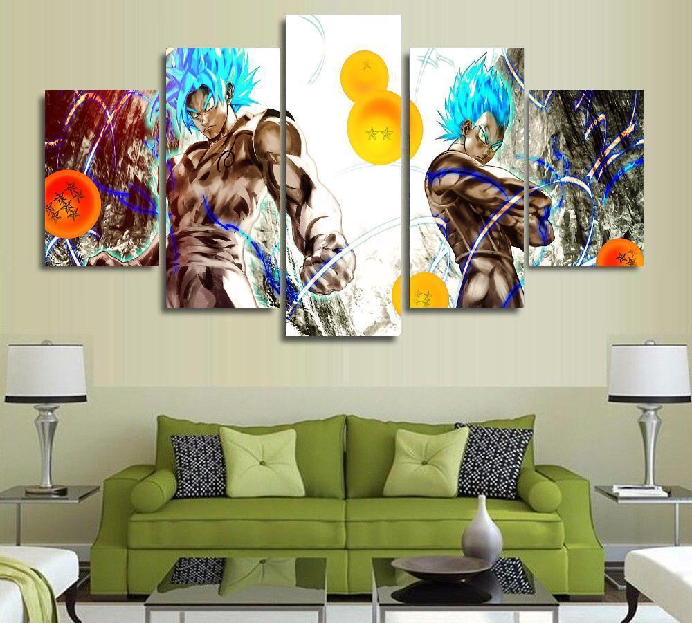 Achetez en gros dragon ball z peinture en ligne des for Decoration murale dragon ball