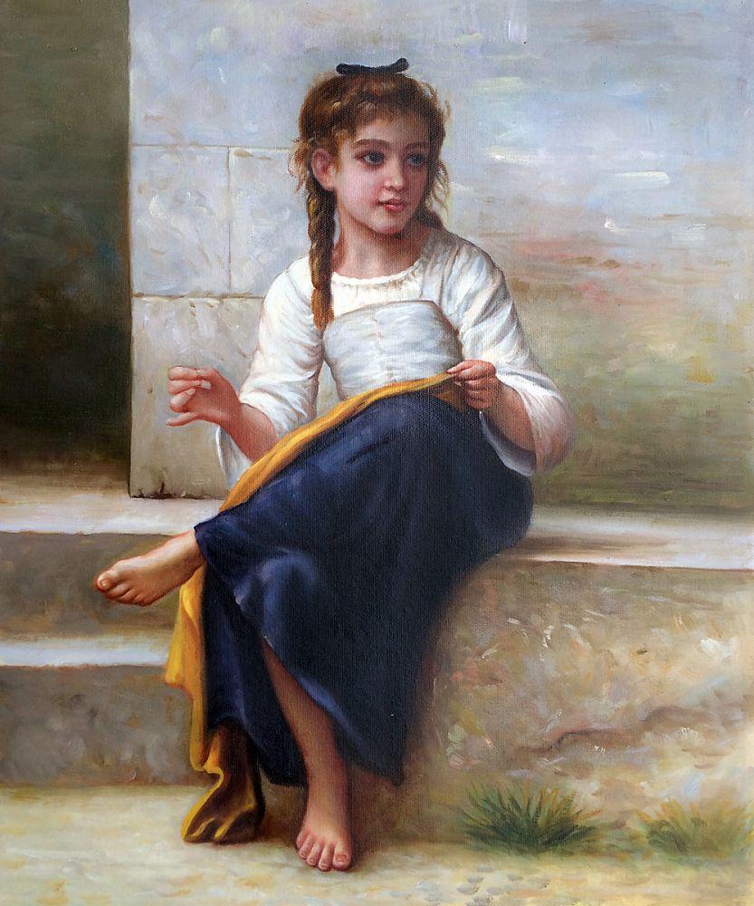 Portrait Oil Painting Home Decor Art William