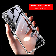 6D Airbag Drop-proof Phone Case for Xiaomi mi A2 8 Lite mi9 A1 Clear Soft Silicone Case for Xiaomi Redmi 7 6 NOTE 7 6 5 Pro asling drop proof protective cover case for xiaomi redmi 5