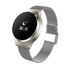 A68 Smart Watch браслет Bluetooth 4.0 смарт-браслет сердечный ритм оксиметр измерять кровяное давление для iOS и Android
