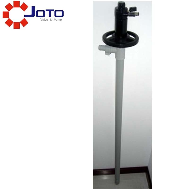 1/2hp Compressed Air Oil Drum Pump PPHT Material 200 L Barrel Suction Transfer Pressure