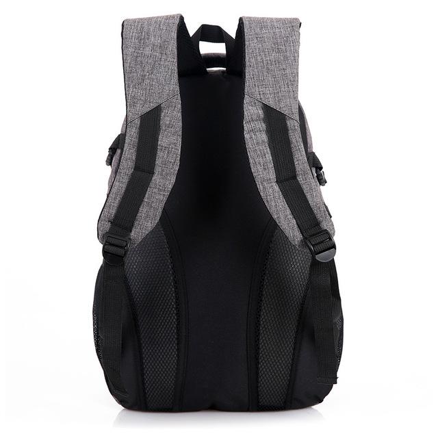 Men Women Backpack Canvas Travel Laptop Bags