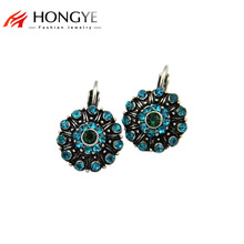 цены на Free Shipping Min Order $10 (Mix Order) Hot New Arrival Vintage Women Crystal Rhinestone Charms Statement Drop Earrings Jewelry  в интернет-магазинах