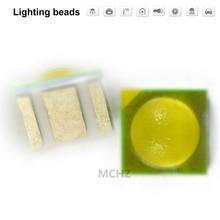 200pcs TIAN DIAN Flip chip 3535 power Ball head lens 3 W SMD LED diodo 3-4V 1000ma