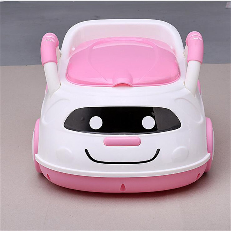 Cute Bebe Camping Car Portable Potty Child Cartoon Toilet Seat Kids Pinico WC Toilets For Boys & Girls Baby Potty Training Free new baby potty portable cute cartoon musical kids toilet cars children s pot wc child potty chair training girls boy toilet seat