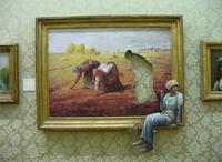 Wohnzimmer home wanddekoration stoff poster Humor lustige Banksy gemälde bilderrahmen frauen galerien kunstwerk wände