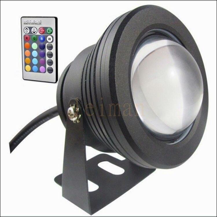 10W 12v LED Floodlight Underwater RGB Led Light Waterproof