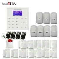 SmartYIBA Domu Dom Bezpieczeństwo SMS Połączeń Android App Sterowania WIFI GSM Alarm Host Wireless Home Security System Sygnalizacji Włamania i napadu