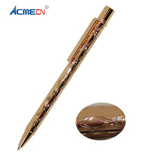ACMECN Unique Mini Rose Gold Pen Pocke Size ODM Personalized Embossed Ballpoint Cute Silver for Writing Lady Gifts
