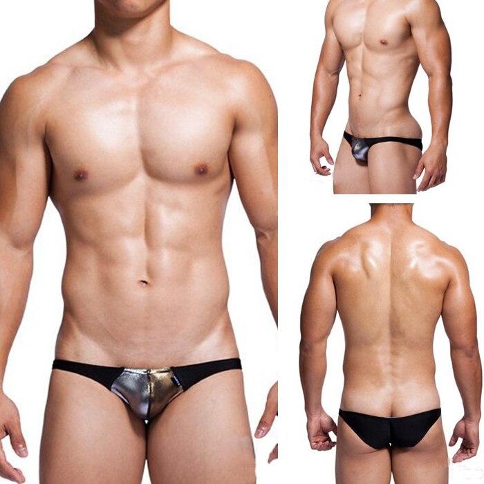 FäHig Mode Herren Sexy Baumwolle Slip Schwarz Underwear Homosexuell Männer Underwear Männer Sexy Baumwolle Niedrige Taille Penis Pouch Erotische Underwear