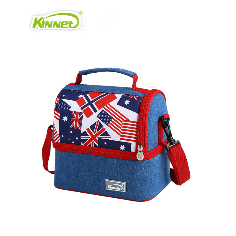 New Brand Lady Gift Handbag Lunch Box Thermal Food Portable Lunch Bag for Kids Men Large Insulated Picnic Cooler Bag Waterproof