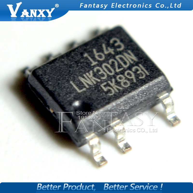 5PCS LNK302DN SOP-7 Package SOP7 LNK302D LNK302 Original Authentic