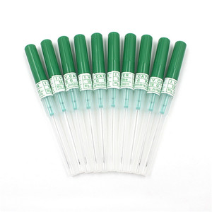Image 3 - 5PCS/Lot 14G 16G 18G 20G 22G  Disposable Sterilized I.V. Catheter Needles Tattoo U Pick Tattoo Piercing Needles