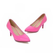 Pumps High heel shoes yellow PU27