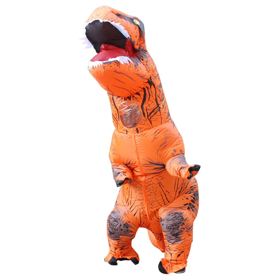 Purim Costumes Airblown Fan Operated T-Rex Inflatable Dinosaur Suit Outfit Costume for Women Adults Dino Rider love live cosplay