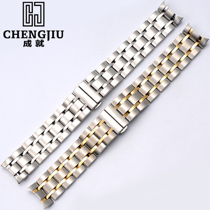 Stainless Steel Watchband For Tissot 1853 T035627A Clock Wrist Watches Band Steel Bracelet Belt Strap For Man Women Watch Straps men s stainless steel watch straps for blancpain leman fifty fathoms clock strap women luxury watchband 20mm ladies bracelet page 1
